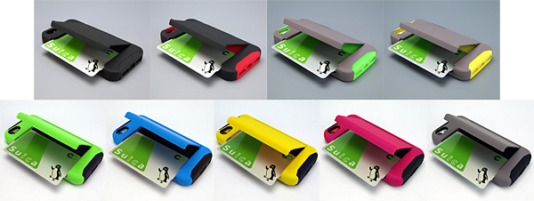 「Impact Card Holder Case for iPhone5s/5」と「Impact Card Holder Case for iPhone5c」