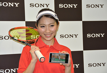 「Smart Tennis Sensor SSE-TN1」