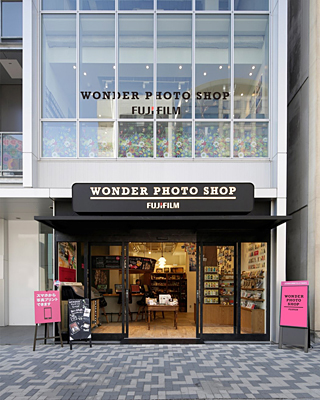「WONDER PHOTO SHOP」の外観