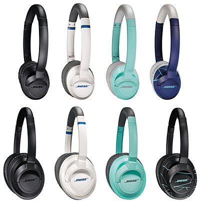 「Bose SoundTrue on-ear headphones」と「Bose SoundTrue around-ear headphones」