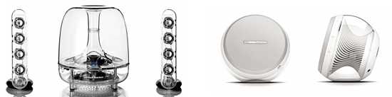 「harman/kardonSoundsticksWireless」と「harman/kardon NOVA」